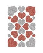 Herma stickers Magic glitter hjärtan (1)