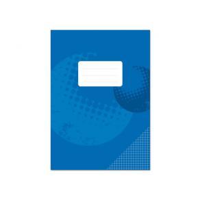 Räknehäfte A4 Blå, rutat, 10st