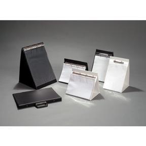 Bordsflipover A4 liggande svart 3x80