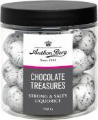 Dragé sötlakrits/choklad 150g