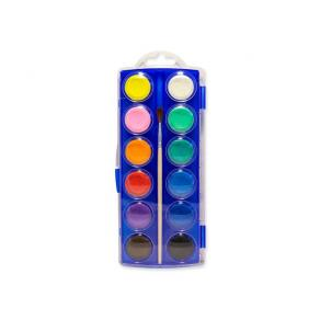 Vattenfärglåda 12 färger