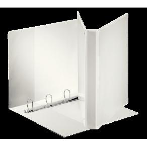 Panoramapärm A4 4DR/25mm, 3 fickor, vit
