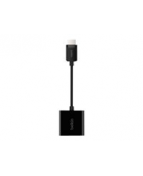 HDMI- adapter - HDMI (hane) till HD-15 (VGA)(hona) - 15 cm