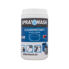 SPRAYWASH Tab 9 utan parfym Blå 14/FP