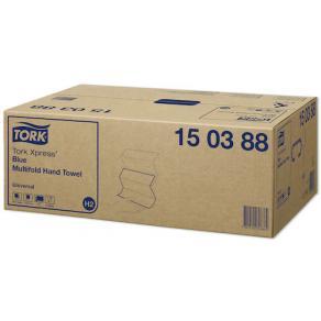 Pappershandduk TORK Xpress Universal H2 Blå, 4740/FP