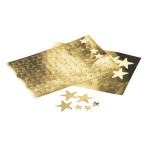 Stickers Stjärna Guld, 13mm, 288/fp