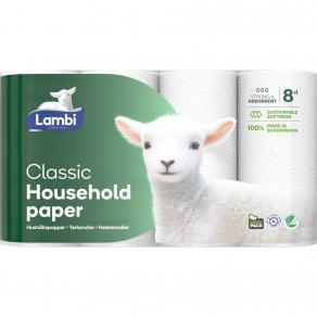 Lambi hushållspapper 5x4st