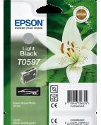 Bläckpatron EPSON C13T05974010 ljussvart