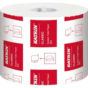 Toalettpapper KATRIN Classic System, 2-lag, 100m, 36rl/fp
