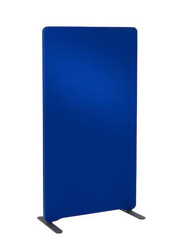 Golvskärm Edge 800x1350mm blå