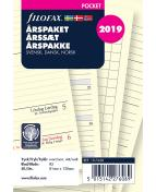 Filofax Årspaket Pocket 2019 V