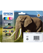 Epson 24XL Multipack - 6-pack - 55.7 ml - XL - svart, gul, cyan,