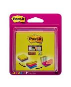 Post-it Super Sticky Easy Select Kub 4 blandade f