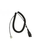 Jabra - Headset-kabel - Snabburkoppling till