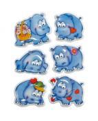 Herma stickers Magic flodhästar (1)