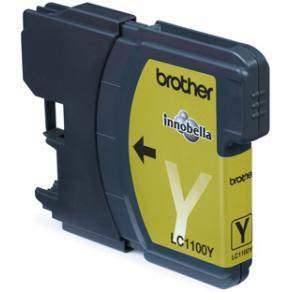 Brother LC1100Y - Gul - original - bläckpatron