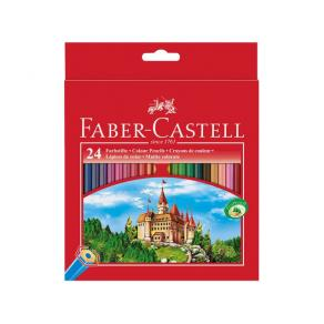 Färgpenna FABER CASTELL Slott 24/FP