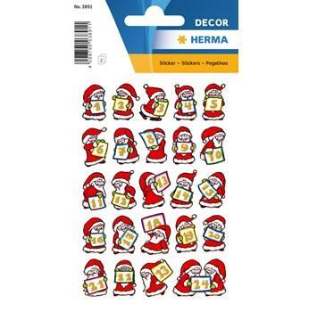 Herma stickers Decor tomtar 1-24 jul (2) 10st