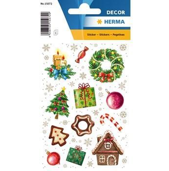 Herma stickers Decor jultid (3) 10st
