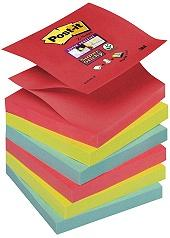 POST-IT SuperSticky Z-bl Pop 76x76mm 6st