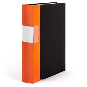 Gaffelpärm A4 60mm orange