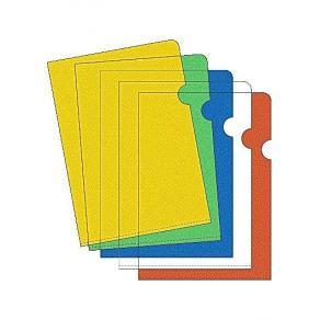 Plastmappar - Aktmapp A4 0,12 ofärgad