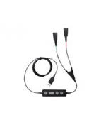 Jabra LINK 265 - Headset-adapter - USB (hane) till