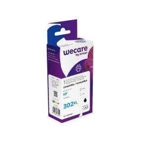 Bläckpatron WECARE HP 302XL Svart