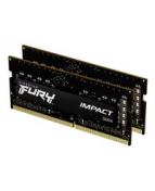 Kingston FURY Impact - DDR4 - sats - 16 GB: 2 x 8 GB - SO DIMM