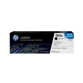 Toner HP CC530AD 304A Svart 2/FP