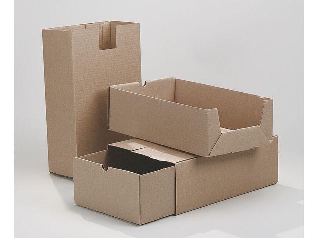 Arkivbox A65 Brun, 2-delad, 228x120x395mm, 25st 25st
