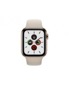 Apple Watch Series 5 (GPS + Cellular) - 44 mm - guld, rostfritt