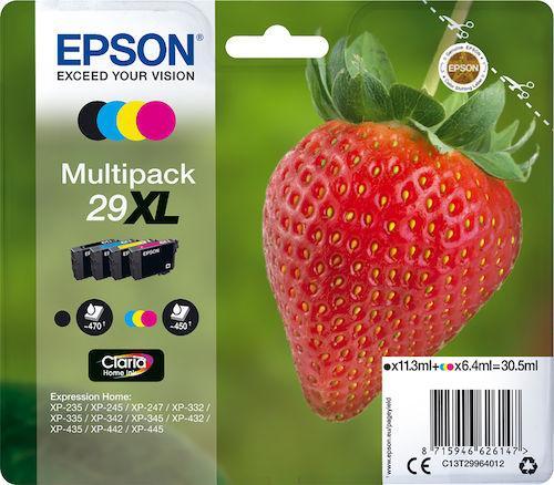 Epson 29XL Multipack - 4-pack - XL - svart