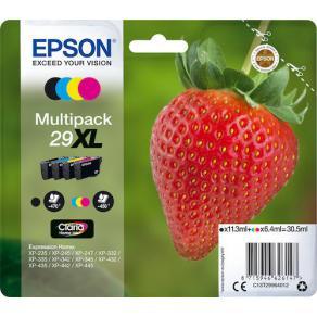 Epson 29XL Multipack - 4-pack - XL - svart,