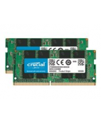 Crucial - DDR4 - kit - 32 GB: 2 x 16 GB - SO DIMM 260-pin - 2666