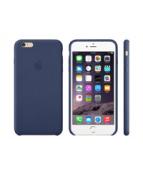 Apple - Baksidesskydd för mobiltelefon - läder - midnattsblå