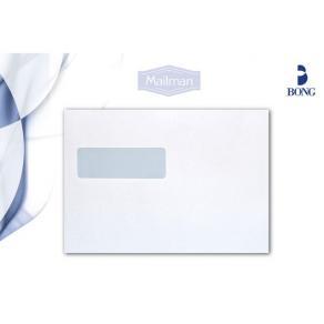 Kuvert C5 V2-Fönster Självhäftande, vit, 90g, 500/fp