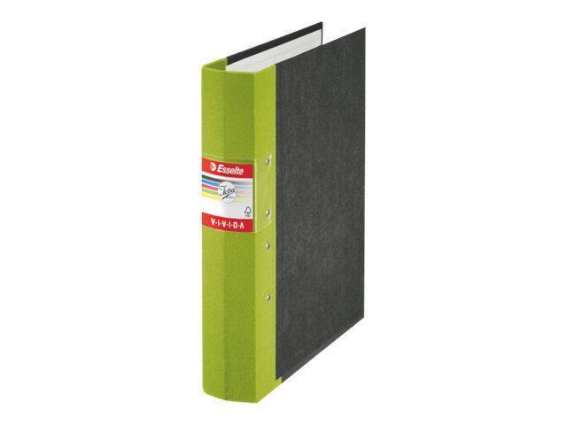Gaffelpärm JOPA Vivida A4 Trärygg Grön, 60mm