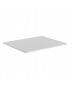 Skiva rak 1200x800x25 ljusgrå laminat