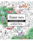 Målarbok Forest antistress