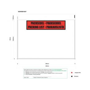 Dokumentficka C5 229x162, med tryck(1000)