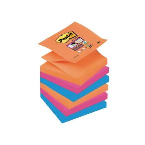 POST-IT SuperSticky Z-bl Glow 76x76mm