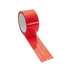 Packtejp PP plombering 50mmx50m röd