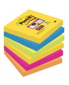 Post-it® Supersticky Rio, 76x76mm, 6/FP