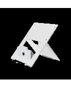 R-Go Riser Flexible Laptop Stand, adjustable, white