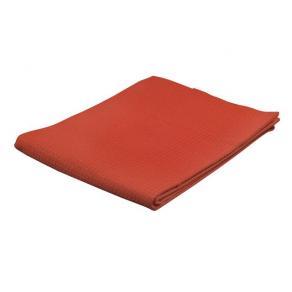Våffelväv Röd, 80 x 100cm