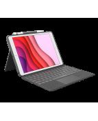 Logitech Combo Touch - Tangentbord och foliefodral - med pekdyna