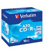 CD-R Verbatim Jewelcase, 700Mb, 10/fp