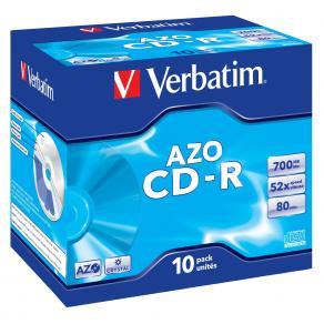 CD-R Verbatim Jewelcase, 700Mb, 10/fp