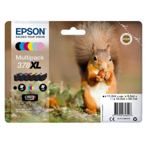 Bläckpatron EPSON T378 C13T37984010 6/F